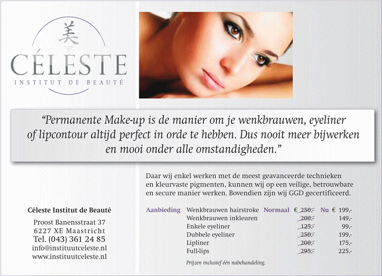 Actie Permanente Make-up
